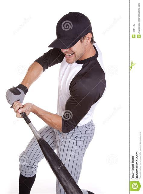 guy swinging baseball bat man swinging bat hard stock photo image 16154180