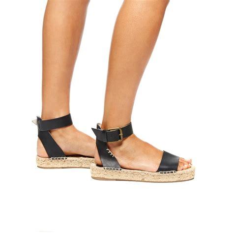 Sandal Wedges Bunga Af13 11 lyst soludos platform open toe sandal in black