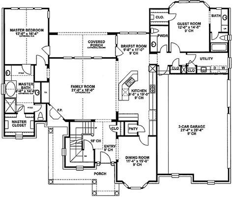 plan 4074db secluded in suite house plans in laws