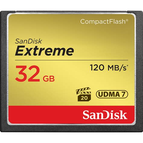 Memori Cf Sandisk Ultra 32gb Speed 50mbs sandisk 32 gb compactflash memory card sdcfxs 032g a46