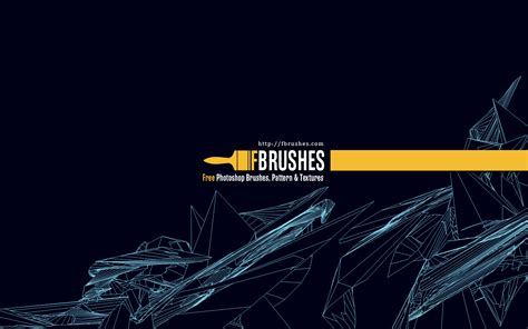 geometric pattern brush geometric wireframe brushes fbrushes