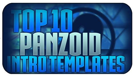 Top 5 Best Panzoid Intro Templates Download In The Description Youtube Panzoid Intro Templates