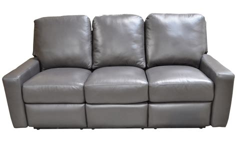leather reclining couches recliner leather sofa