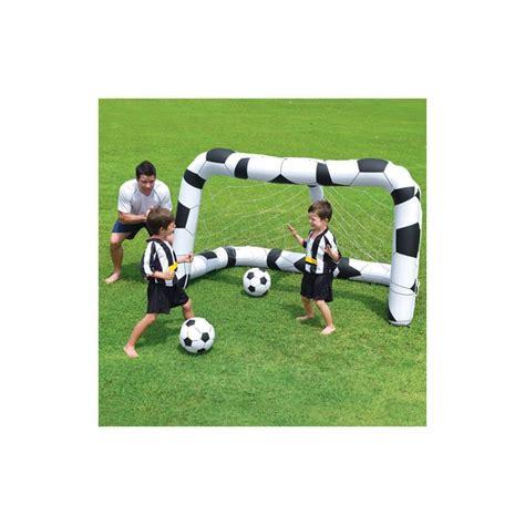 porta da calcio gonfiabile porta da calcio gonfiabile 2 palloni gioco da giardino