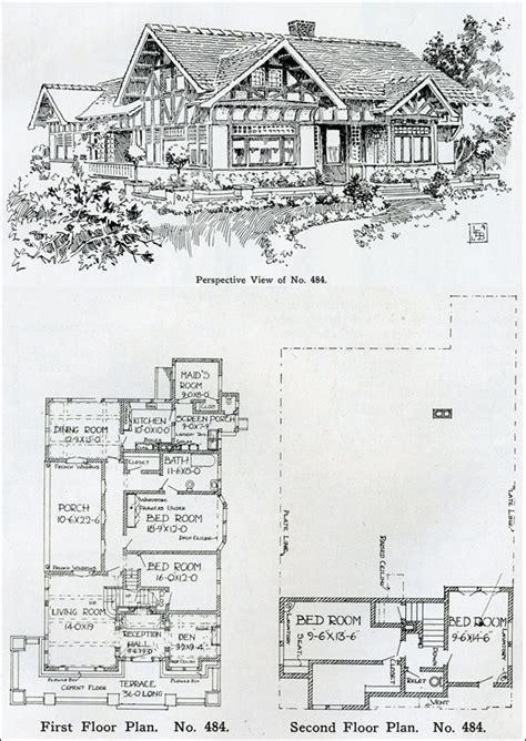 tudor revival floor plans 1910 two story tudor revival house plan henry wilson