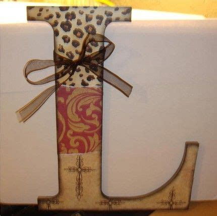 Log Home Decor Ideas Scrapbook Paper Letter Crafty Things To Make Pinterest