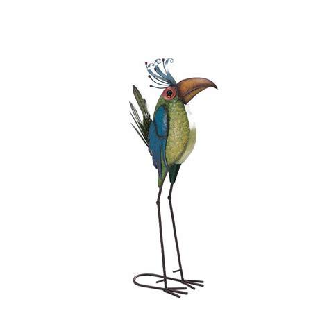 sunjoy whimsical bird garden statue 110301024 the home depot