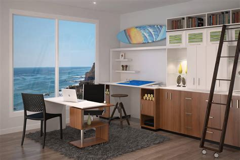 designer home office 26 home office designs desks shelving by closet factory