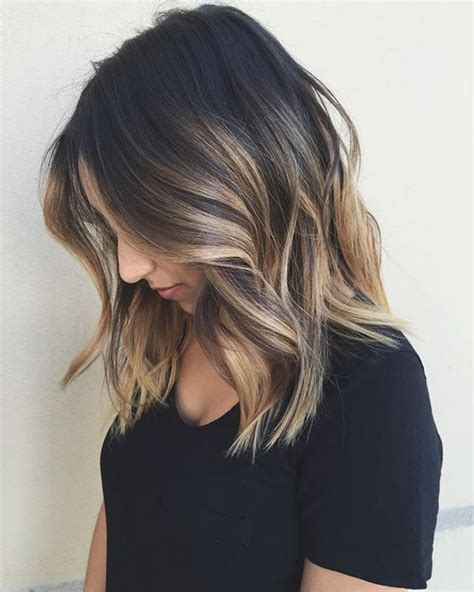 what year was the lob hairstyle created lob hair highlights and balayage on pinterest