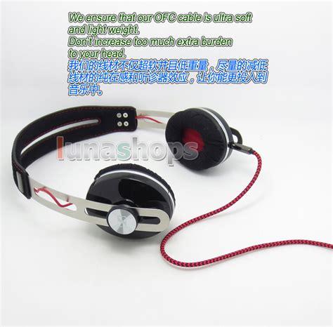 Headset Original Log On Soft Earphone 5n ofc soft audio headphone cable for sennheiser momentum on ear headset ebay