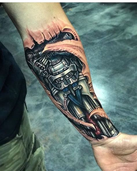 biomechanical wrench tattoo 41 biomechanical tattoos designs from future 2018