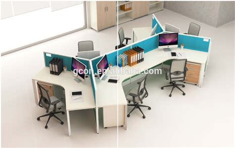 workstation table design modern office cubicles workstation desk for 6 persons with cabinets view office furniture