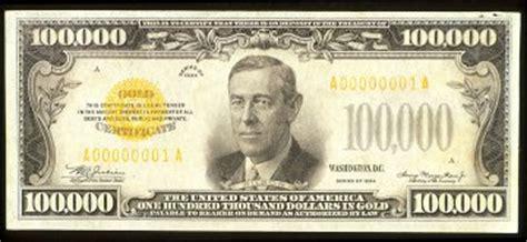 J.S.G. Boggs, $100,000 bill | GE Money & Art $100000 Bill
