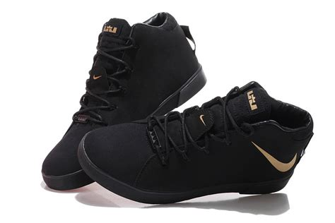 black and gold mens sneakers nike lebron 12 nsw lifestyle s black gold shoes