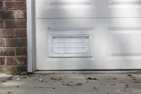 Garage Door Vents by Flood Flaps Ffnf05gd W Garage Door Flood Vent White Thebuilderssupply