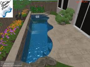 swimming pools for small yards swimming pool design big ideas for small yards jim chandler poolsjim chandler pools pools