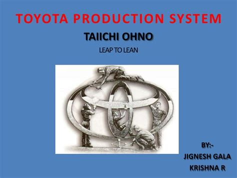 Toyota Production System Book Free Toyota Production System