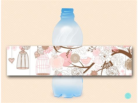 Water Bottle Decorating Ideas by Birdcage Decoration Signs Magical Printable