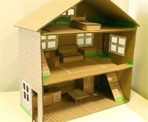 how to build a barbie doll house out of wood 20 diy dollhouses that are eco friendly affordable and