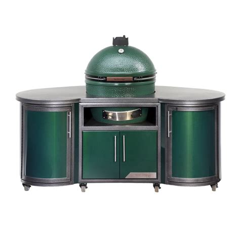 big green egg cabinet big green egg islands fun outdoor living