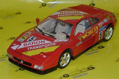 Burago Enzo Model Car Limited Edition 1 bburago 1991 348 tb 5 baron