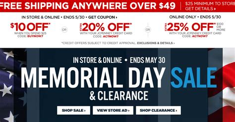 bed bath and beyond memorial day sale weeklyadcirculars com blog jcpenney memorial day sale