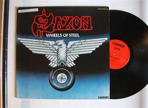 Kaos Fangkeh Saxon Wheels Of Steel saxon wheels of steel records lps vinyl and cds musicstack