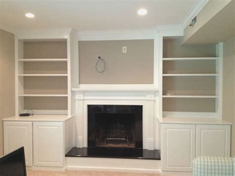 built in bookcases around fireplace 1000 ideas about shelves around fireplace on