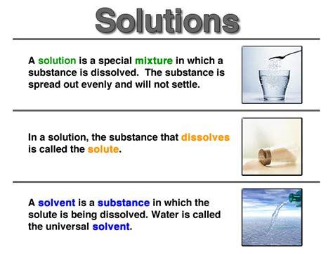 Mixtures And Solutions Worksheets by Physical Science