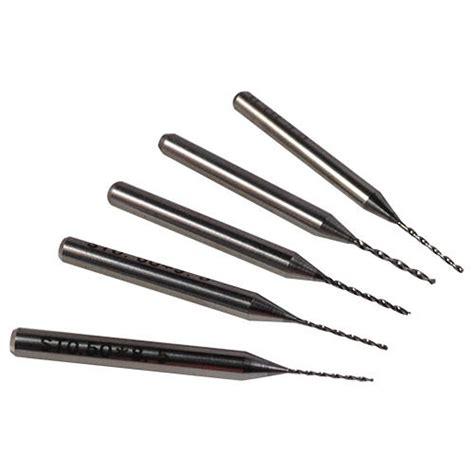 Tungsten Carbide Micro Drill Bits   Sizes 0.1mm   1/8 inch