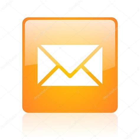 email orang ic 244 ne web brillant carr 233 orange de courrier photographie