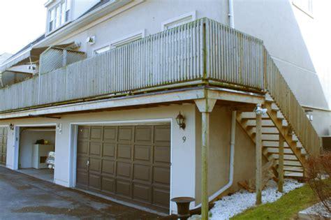 Garage Deck by Deck Construction How To Build A Deck Deck Plans