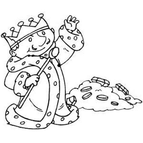 coloring pages of king midas king midas colouring pages
