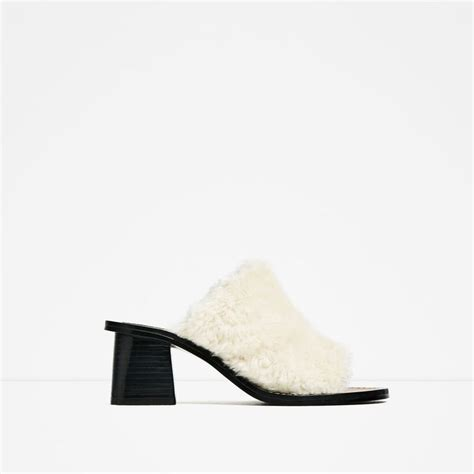 Zara Faux Fur High Heel Mules 308 best high 2016 images on formal