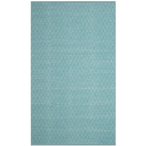 Safavieh Montauk Ivory Turquoise 4 Ft X 6 Ft Area Rug 4 Ft Area Rugs