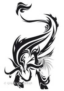 tribal zodiac tattoo designs taurus tattoos and designs page 18