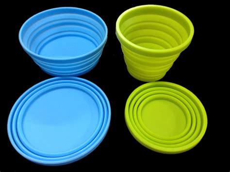 Tirisan Gelas Kapasitas 7 Gelasbotol Bisa Dilipat 2 foldable cup bowl merapi mountain