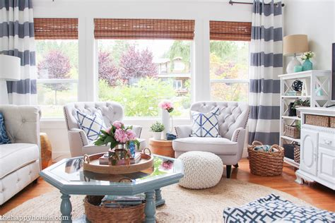 lake house living room lake house summer home tour part two our living room kitchen the happy housie