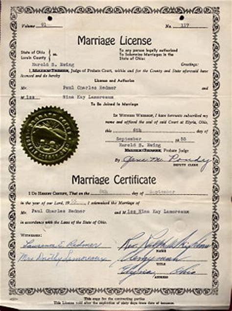 Columbus Ohio Marriage License Records Wedding License Ohio Wedding Ideas 2018