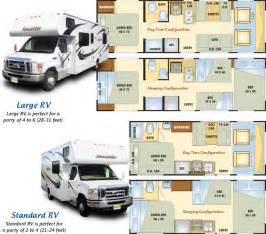 Motorhome Plans by Your Home On The Road Rv Floorplans Alaska Motorhome