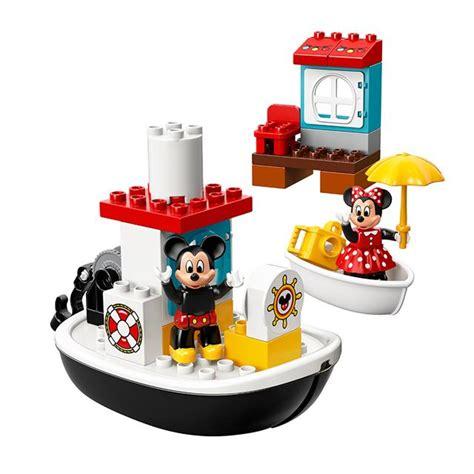 lego boat duplo lego 174 duplo mickey s boat