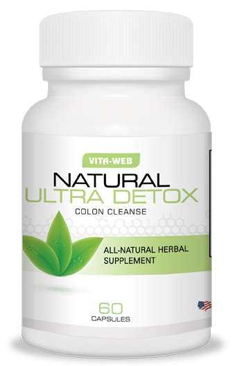 Ultra Detox Cleansing Herbal Capsule by Ultra Detox Vita Web
