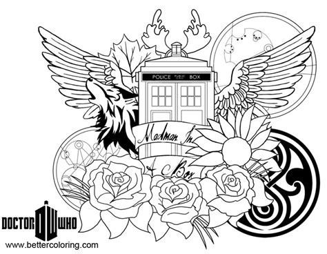 doctor who coloring pages doctor who coloring pages clipart free printable