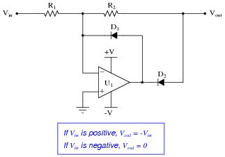 precision diode uses precise diode circuits analog integrated circuits worksheets