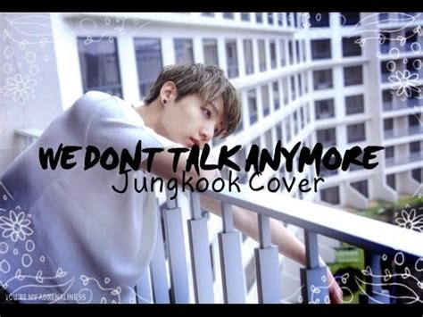 download mp3 bts talk bts jungkook we dont talk anymore cover