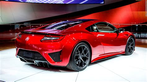 Parent Company Of Acura by Acura Reveals Nsx Hybrid Supercar