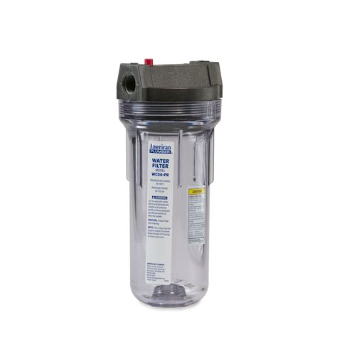 Housing Filter 20 Nanotec Inlet Outlet 34 american plumber american plumber wc34 pr standard filter housing 3 4 quot inlet outlet atk152018