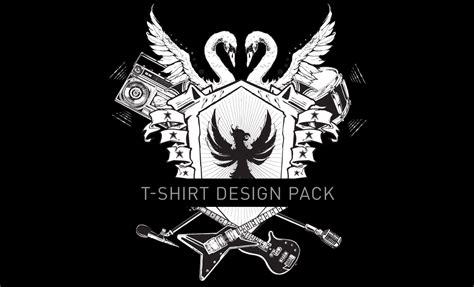 design t shirt rock vector custom rock and roll t shirt design pack