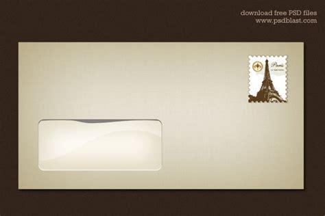 envelope design template psd blank envelope template psd vector file 365psd