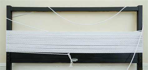 rope headboard diy minimal rope headboard
